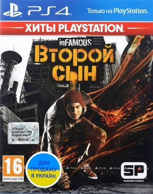 InFamous: Второй Сын (Хиты PlayStation), PlayStation 4, RU