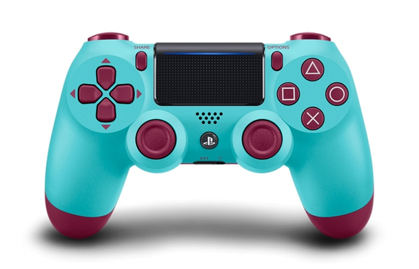 Sony Dualshock 4 (PS4) Berry Blue, Голубой