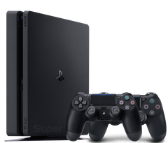 Sony Playstation 4 Slim 500Gb + Dualshock 4, Черный, 500 ГБ