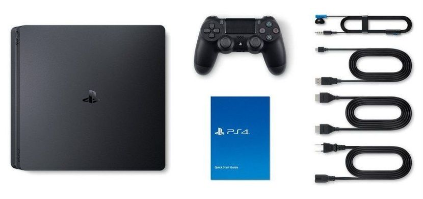 Sony PlayStation 4 Slim 1Tb (CUH-2208) + Red Dead Redemption 2, 1 ТБ