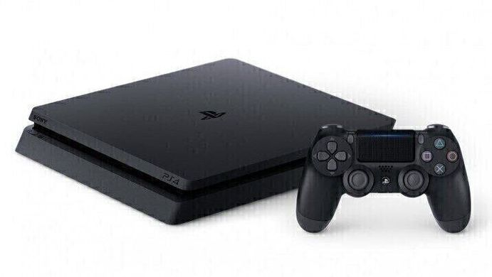 Sony Playstation 4 Slim 1Tb, Черный, 1 ТБ