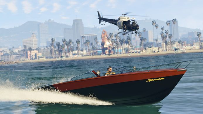 GTA 5: Grand Theft Auto V, PlayStation 4, RU (Sub)