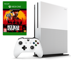 Microsoft Xbox One S 1Tb + Red Dead Redemption 2